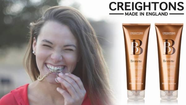 Pielęgnacja ciemnych włosów z Beautiful Brunette marki Creightons