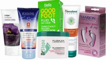 TOP 15 – Kosmetyki do pielęgnacji stóp