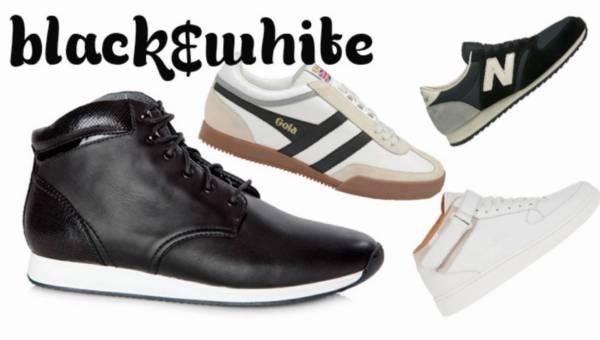 Modne sneakersy 2015 – Black&White