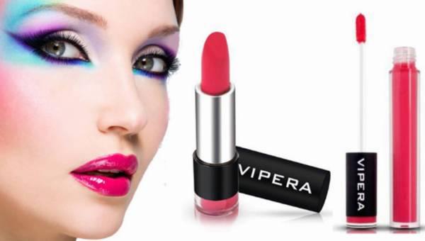 Zmysłowe usta z Vipera Cosmetics