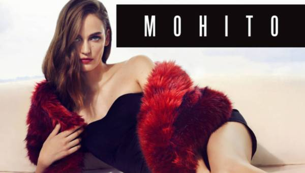 Zuzanna Bijoch twarzą kampanii Mohito jesień-zima 2015