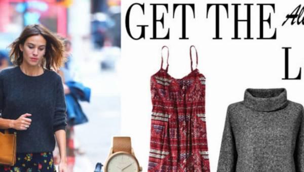 Stylizacja dnia: Ubierz się jak modelka Alexa Chung