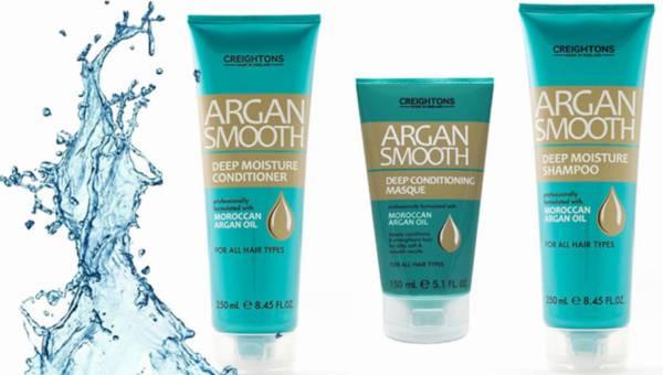 Na ratunek suchym i zniszczonym włosom –  Argan Smooth od Creightons