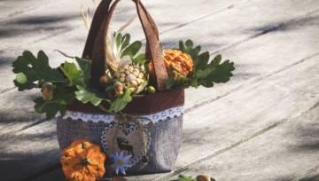 DIY: Dekoracje na jesień – proste i pomysłowe!