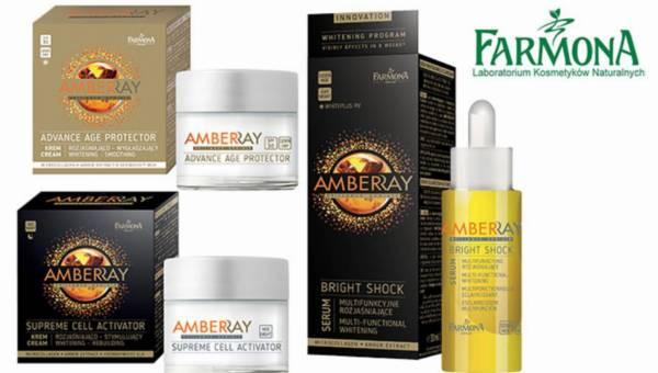 Rozjaśniająco–odmładzająca linia do twarzy Farmona Amberray