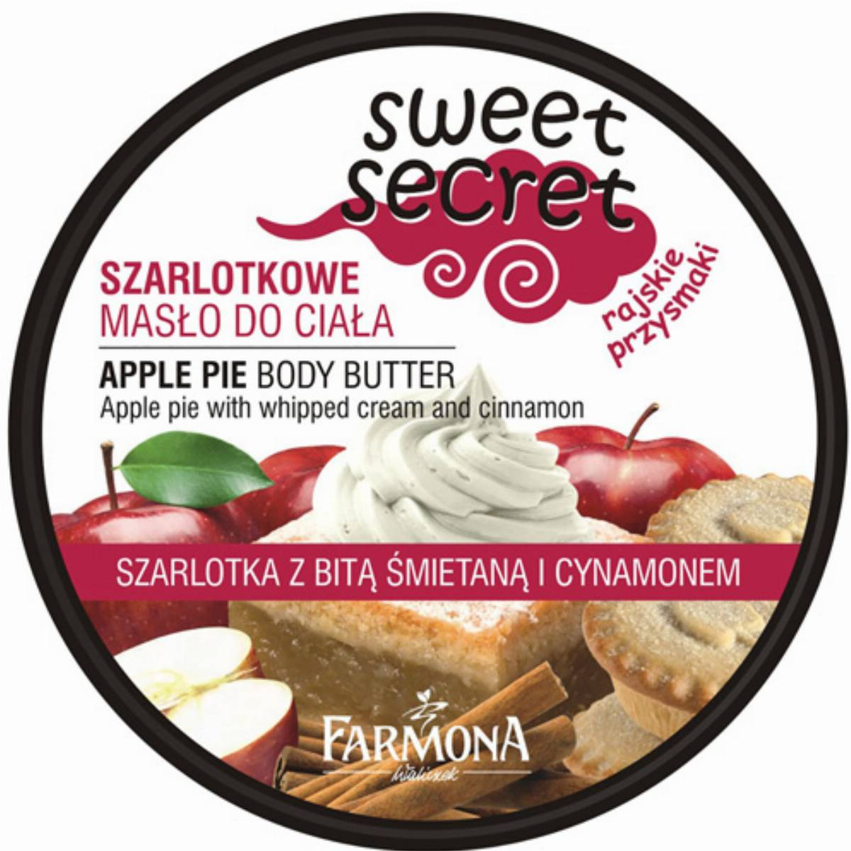 Farmona Sweet Secret szarlotkowe maslo do ciala