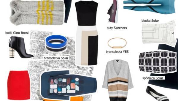 Stylizacja dnia: Geometryczne abstrakcje w modzie
