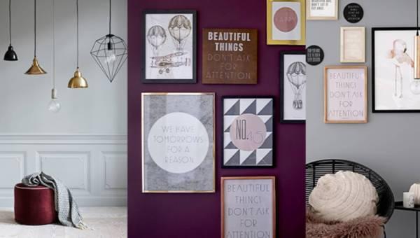 Inspiracje do domu: Graficzne dekoracje