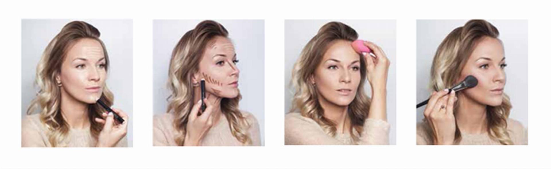 jak wykonać konturowanie twarzy