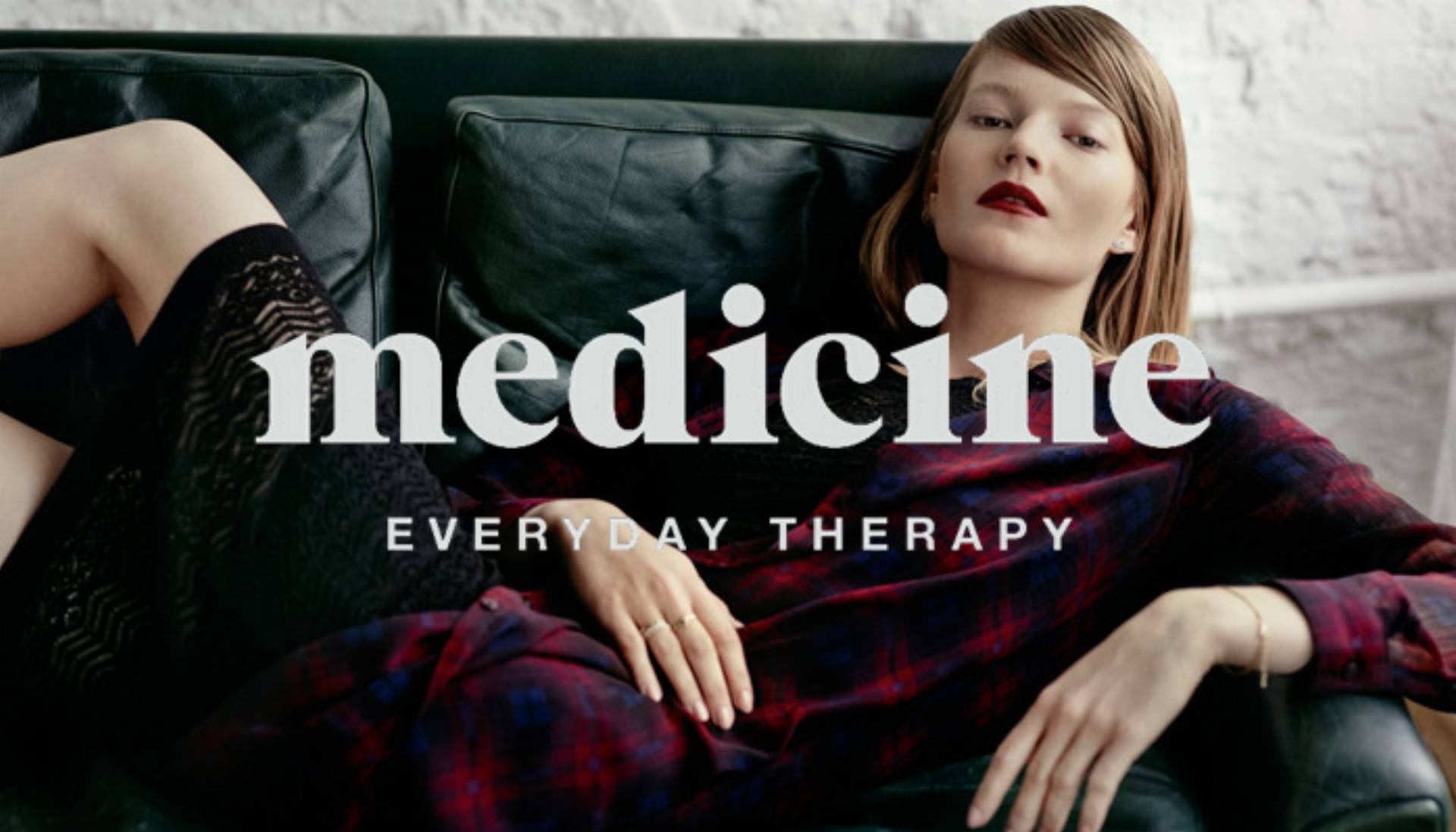 Kampania Medicine jesień-zima 2015 log