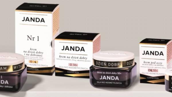 Linia kosmetyków do cery dojrzałej JANDA