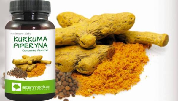 Nowy suplement:  Kurkuma Piperyna – pikantnie na trawienie