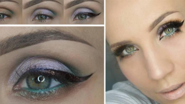 Kącik blogerek: Make up by ANNA – elegancki makijaż na wyjście – krok po kroku
