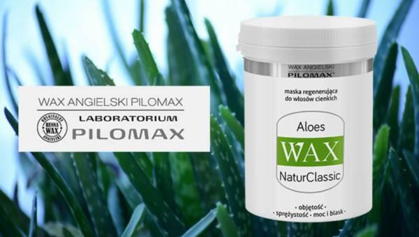 Maska regenerująca do włosów – Aloes Wax NaturClassic Pilomax
