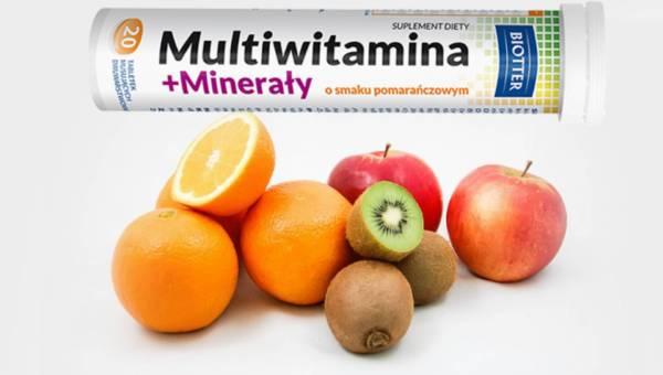 Multiwitamina + Minerały – uzupełnij energię!