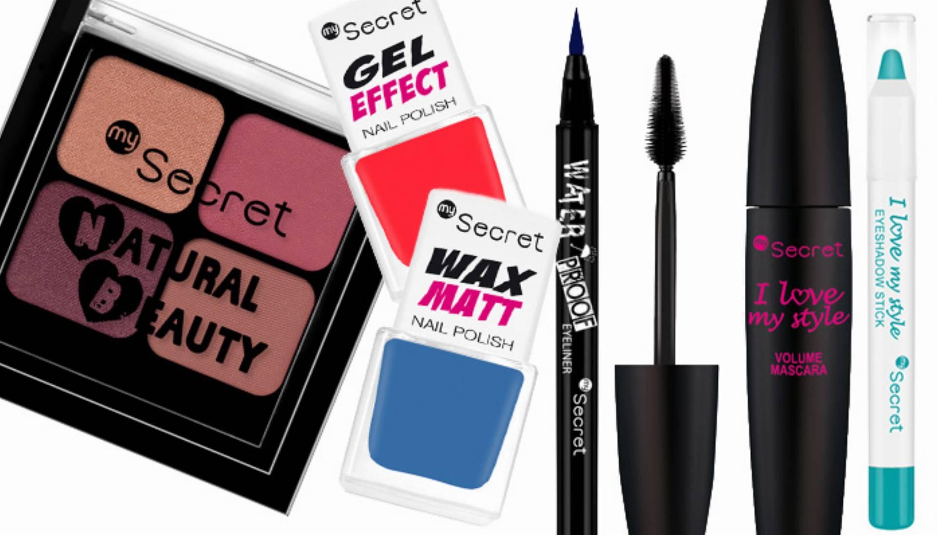 Nowości makijażowe marki My Secret