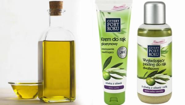 Oliwkowa pielęgnacja rąk z kosmetykami Cztery Pory Roku