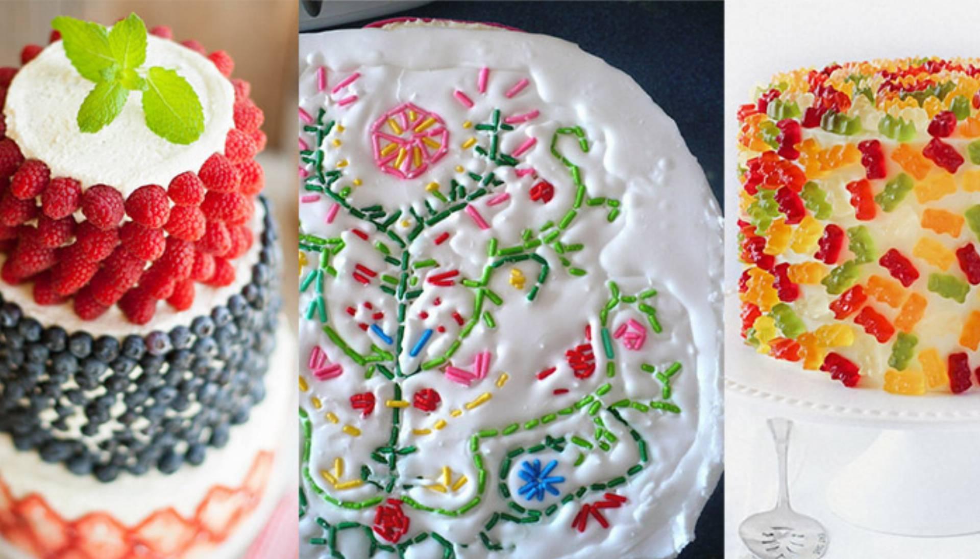 Proste Dekoracje Tortów I Ciast Jak Udekorować Tort Samemu