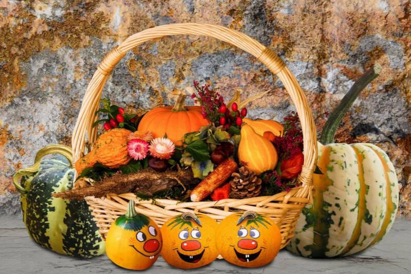 jesienny koszyk
