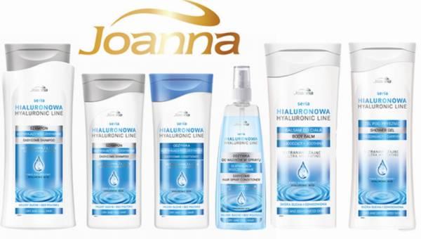 Seria Hialuronowa do pielęgnacji włosów i skóry od Joanny