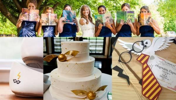 Nowy trend! Ślub tematyczny: Harry Potter