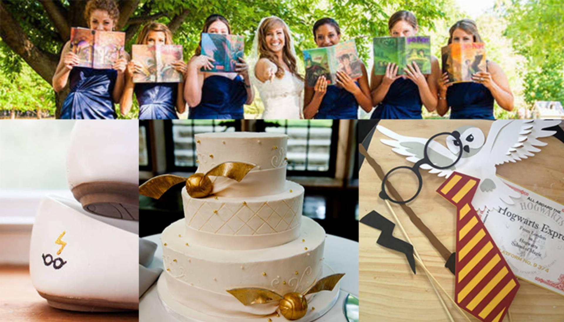 Nowy Trend ślub Tematyczny Harry Potter Kobietamagpl