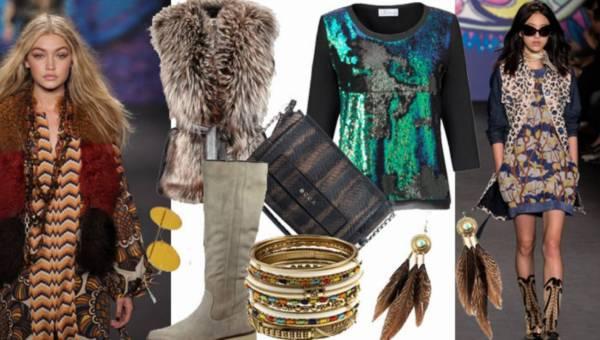 Modne stylizacje na jesień: Szalone lata 70-te i styl boho w sześciu odsłonach
