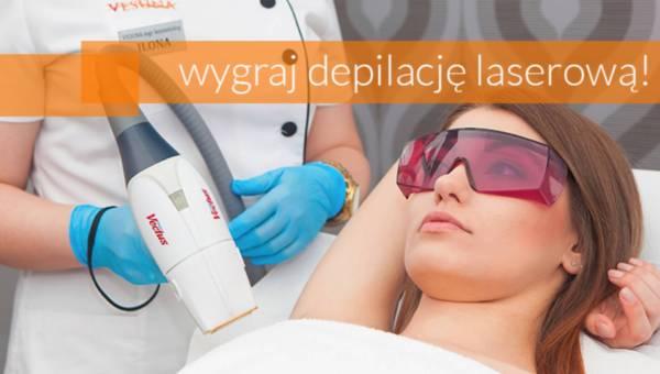 WYNIKI KONKURS: VESUNA – Wygraj depilację laserową!