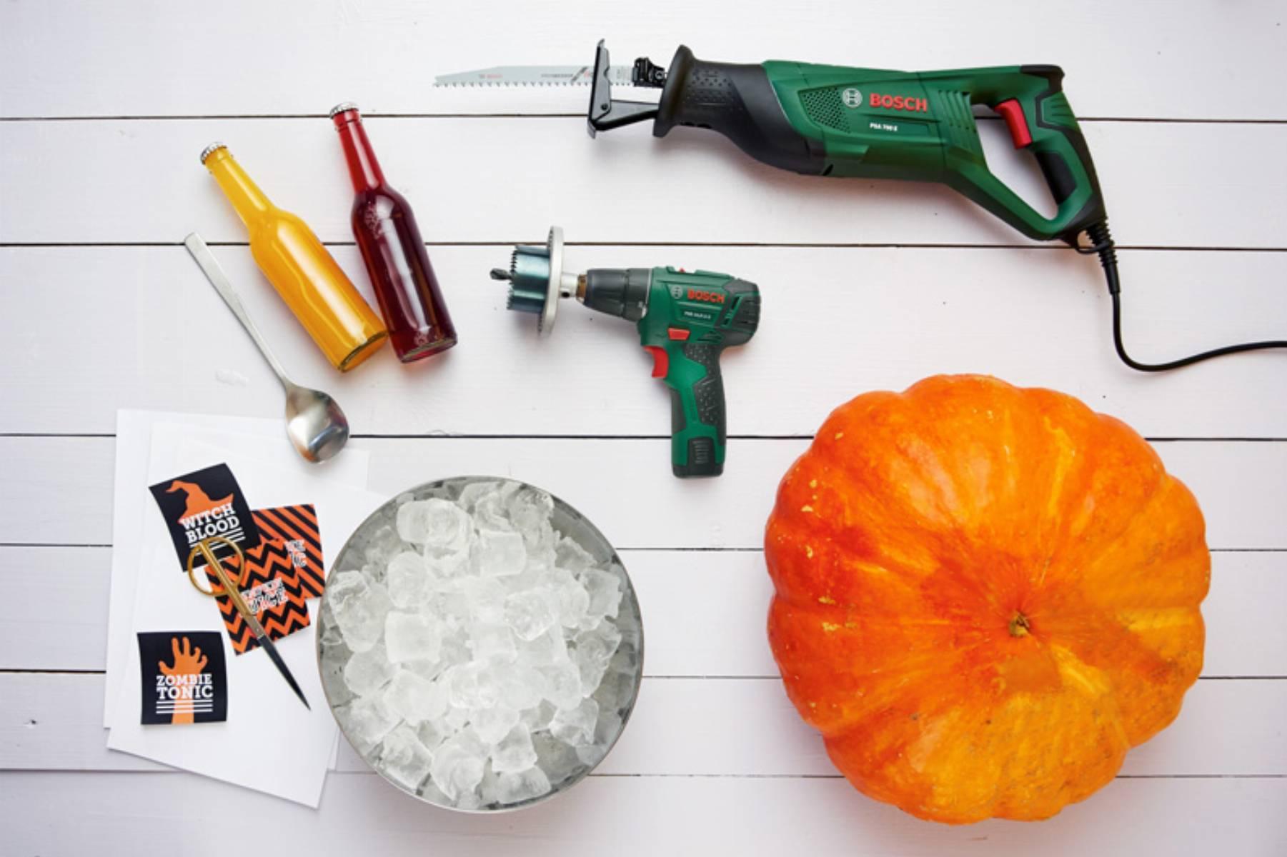 A cool pumpkin_list of materials