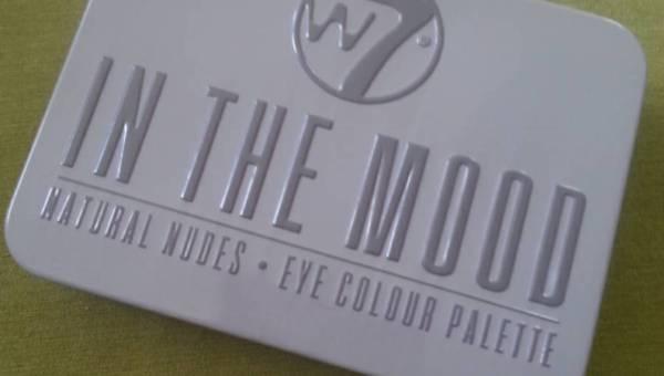 W7 Trends, In The Mood, Eyeshadow Palette (Neutralna paleta cieni do powiek)