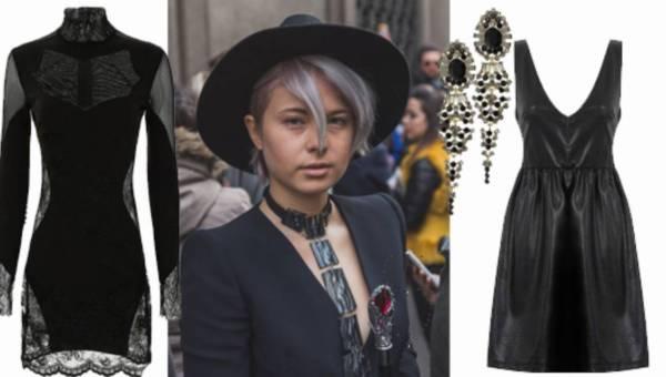 Glam goth: mroczne stylizacje nie tylko na Halloween