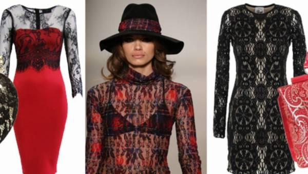 Shoppingowy przegląd: Koronki – modny trend jesiennego looku!