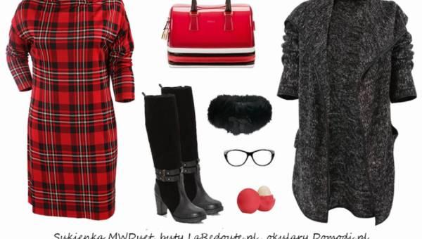Stylizacje na dzisiaj: Ubrania w modną kratkę!