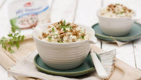 Dla wegetarian: Kremowe risotto z grzybami