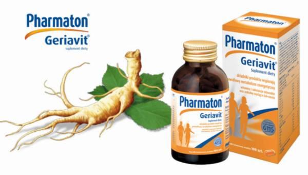 Pharmaton Geriavit: Z energią przez jesień