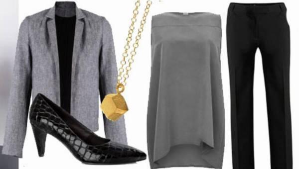 Modne stylizacje: biurowy look – 3 propozycje ze spódnicą, sukienką i spodniami