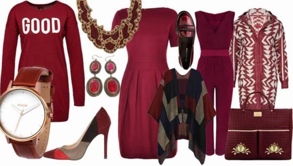 Shoppingowy przegląd: Ubrania i dodatki w kolorze bordo na jesień 2015