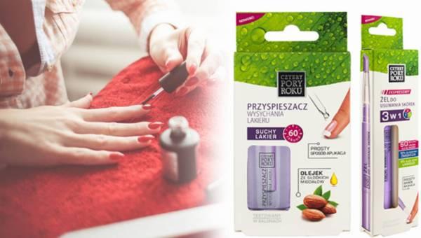 Udany manicure z produktami Cztery Pory Roku