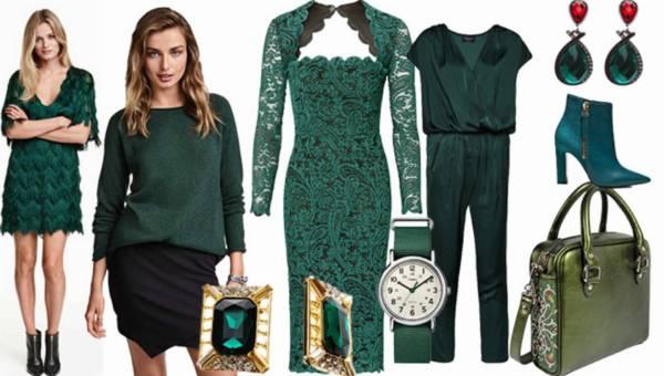 Shoppingowy przegląd: Zielone ubrania i dodatki na sezon jesień – zima 2015/2016