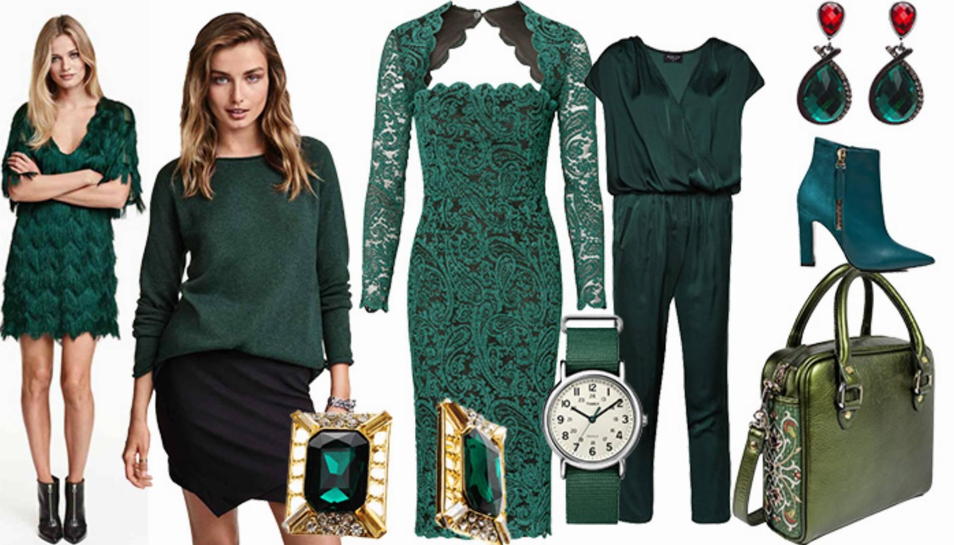 29e1d29489 Shoppingowy przegląd  Zielone ubrania i dodatki na sezon jesień ...