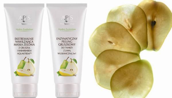 Gruszkowe nowości kosmetyczne od Apis Natural Cosmetics z serii Hydro Evolution