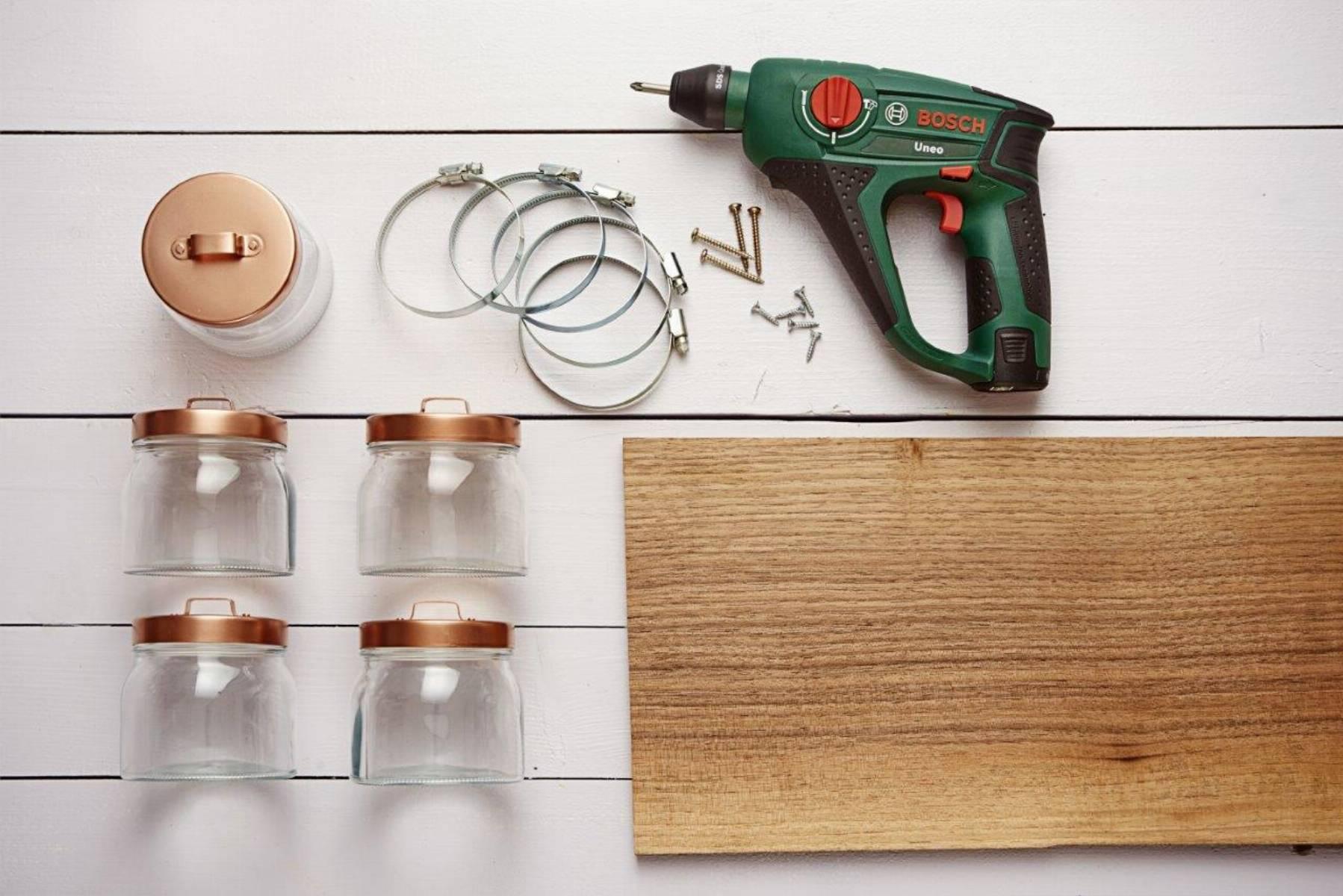 Bathroom Organiser_list of materials