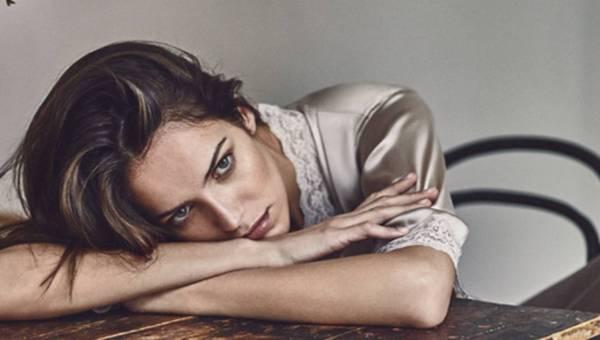 Bielizna nocna z kolekcji Zara zima 2015/2016