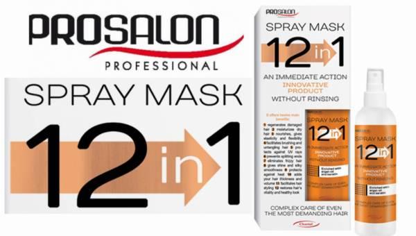 Maska do włosów CHANTAL ProSalon Spray Mask 12 w 1