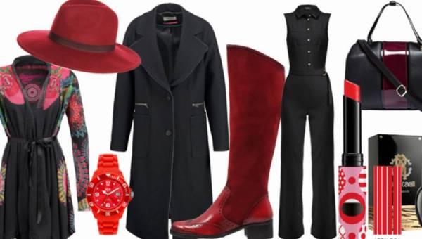 Zakupowe inspiracje: Czarno-czerwona klasyka