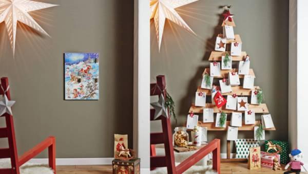 DIY: Drewniany kalendarz adwentowy