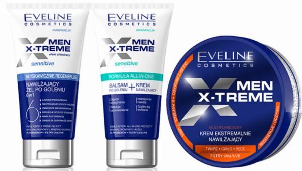 Nowości z serii kosmetyków dla mężczyzn Eveline Cosmetics MEN X-TREME