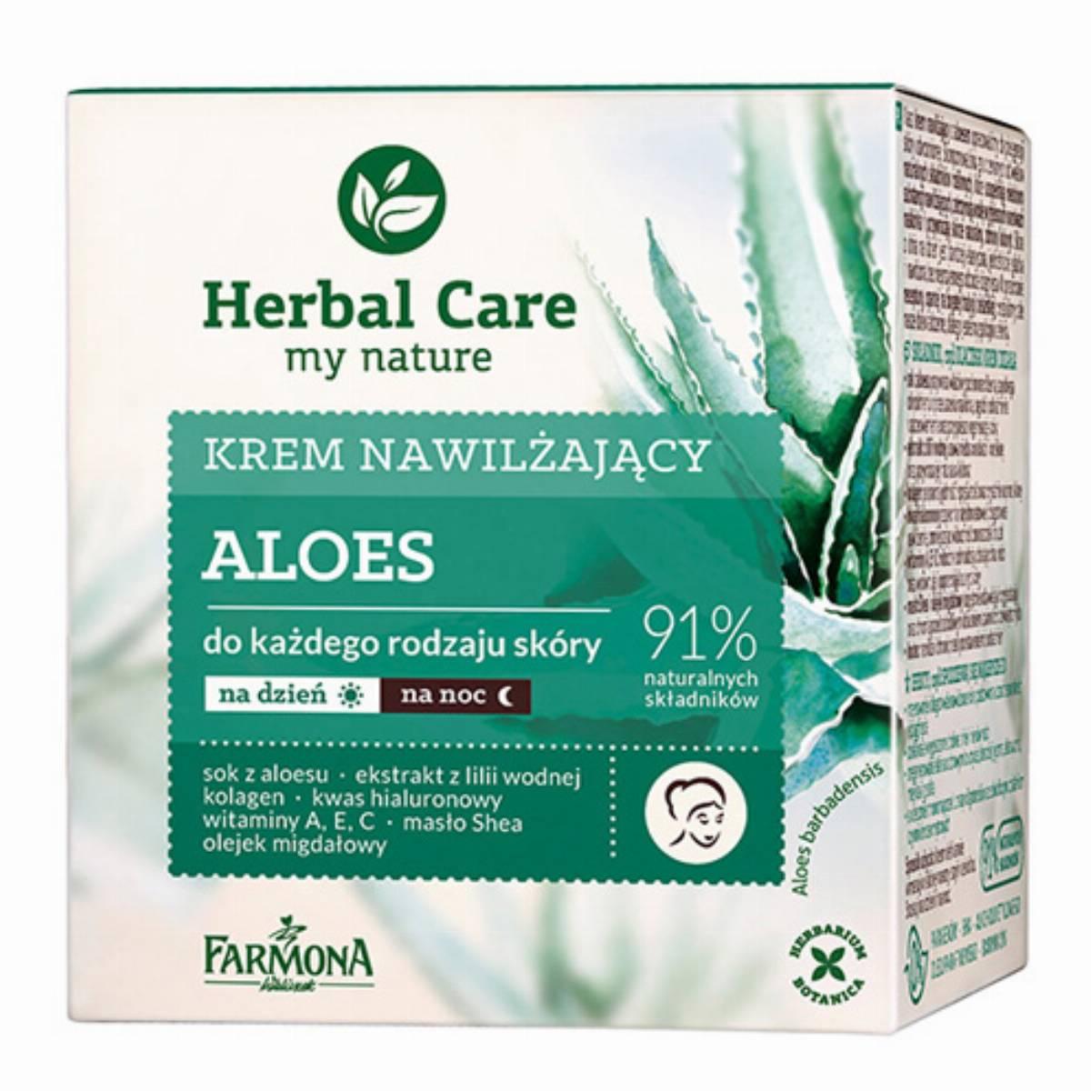 Farmona Herbal Care krem do twarzy - aloes box