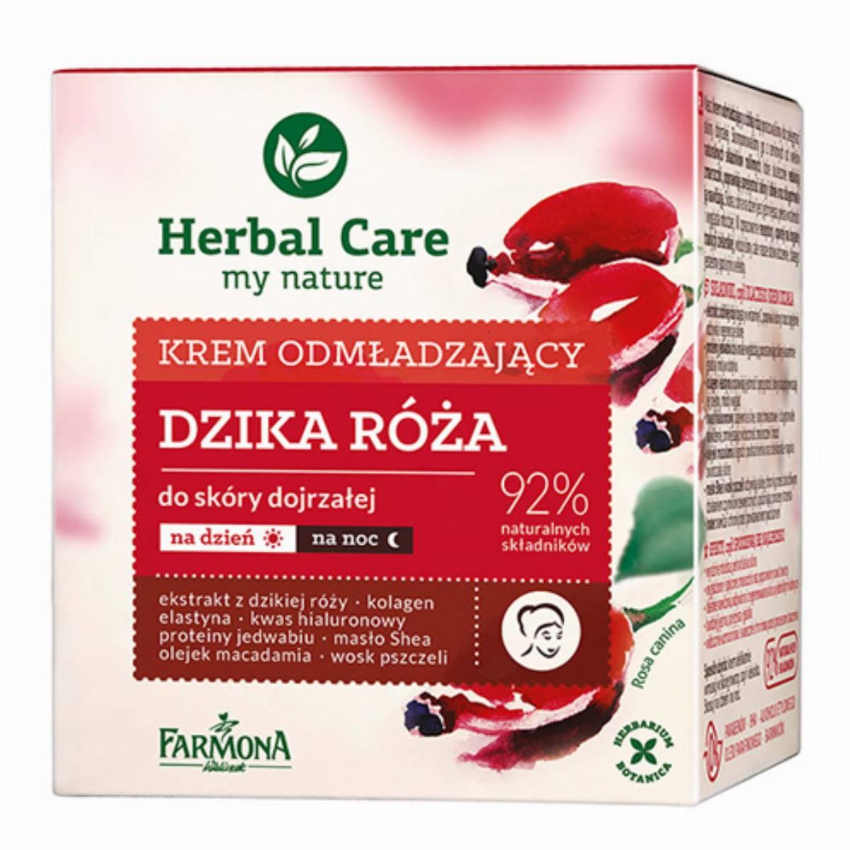 Farmona Herbal Care krem do twarzy - dzika roza box