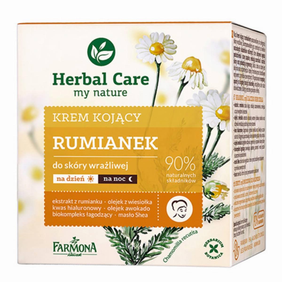 Farmona Herbal Care krem do twarzy - rumianek box